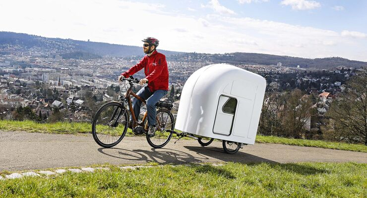 fahrrad caravan von wide path camper im test caravaning. Black Bedroom Furniture Sets. Home Design Ideas