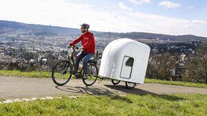 Fahrrad-Caravan