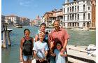 Familie Forstner in Venedig