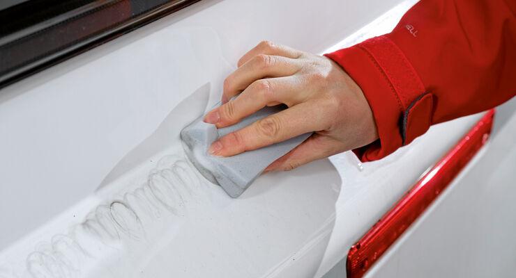 Frühjahrsinspektion, Auto kontrollieren und reparieren