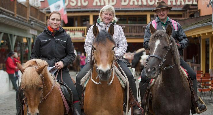 In der Westernstadt Pullman City kommen Pferdeliebhaber und US Car-Fans voll auf ihre Kosten. Wie jedes Jahr haben die Verantwortlichen ein buntes Sommerprogramm für Jedermann organisiert.