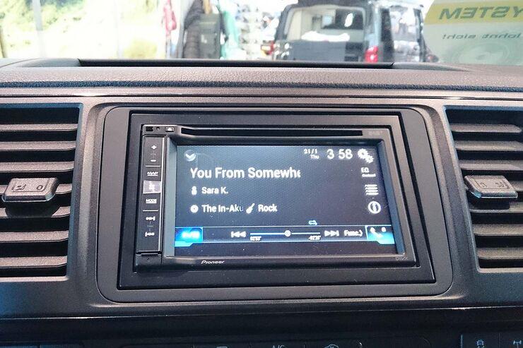 Jehnert Soundsystem VW T6 Display