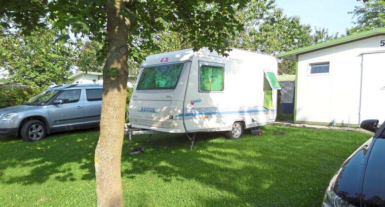 Komfort-Camping Panoramablick