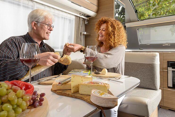 Landvergnügen Wein und Käse