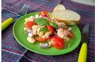 Mahlzeit auf Öko-Teller