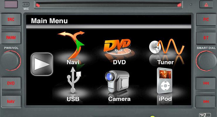 Navigationsgeräte Herstellerdesign Zenec