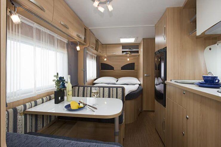 Neue TEC Travel King und Tour Caravans Wohnwagen Caravaning