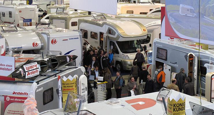 Neuzulassungen von Wohnmobilen in Deutschland: positiver Start ins neue Jahr