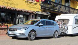 Opel Astra Sports Tourer im Zugwagentest