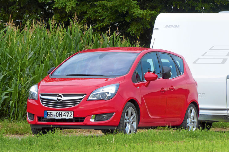 opel meriva im zugwagen test caravaning. Black Bedroom Furniture Sets. Home Design Ideas