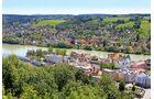 Passau von der Veste Oberhaus aus betrachtet