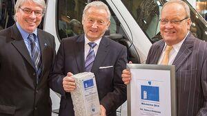 Raymond Eckl (links), Harald Striewski und Hans-Jürgen Hess