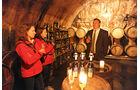 Reise: Churfranken, Weinverkostung