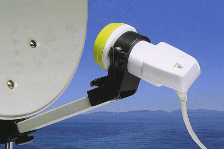 Preiswerte Sat Anlage Mit Satelliten Finder Caravaning