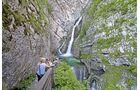 Savica-Wasserfall