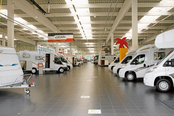 Service Center der Caravan und Zubehör-Hersteller