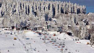 Skidorf Neuastenberg in der Wintersport-Arena Sauerland