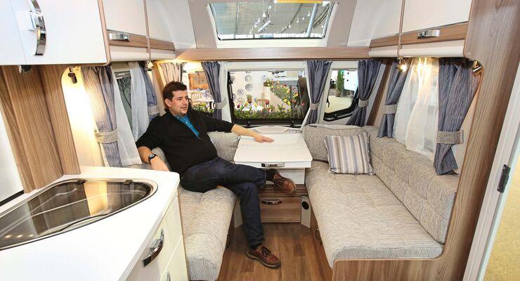 Etagenbett Nachrüsten Wohnwagen : Alle wohnwagen neuheiten auf der cmt caravaning