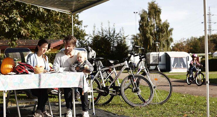 Stadtcamping in Dänemark