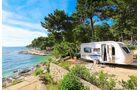 Superior-Stellplatz Camping Cikat Kroatien Insel Losinj