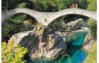 Tessin Bogenbrücke
