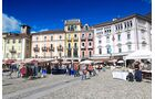 Tessin Markt in Locarno