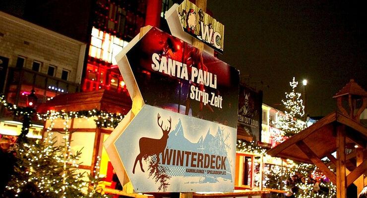 Weihnachtsmarkt Hamburg St. Pauli