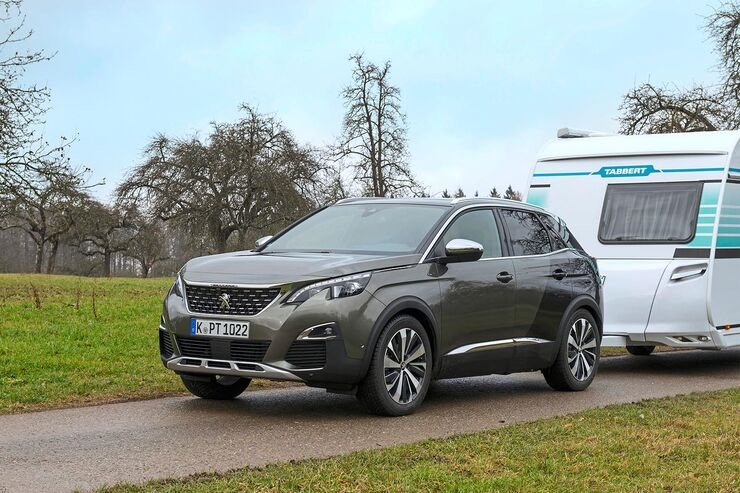 zugwagen test des neuen suv peugeot 3008 gt caravaning. Black Bedroom Furniture Sets. Home Design Ideas