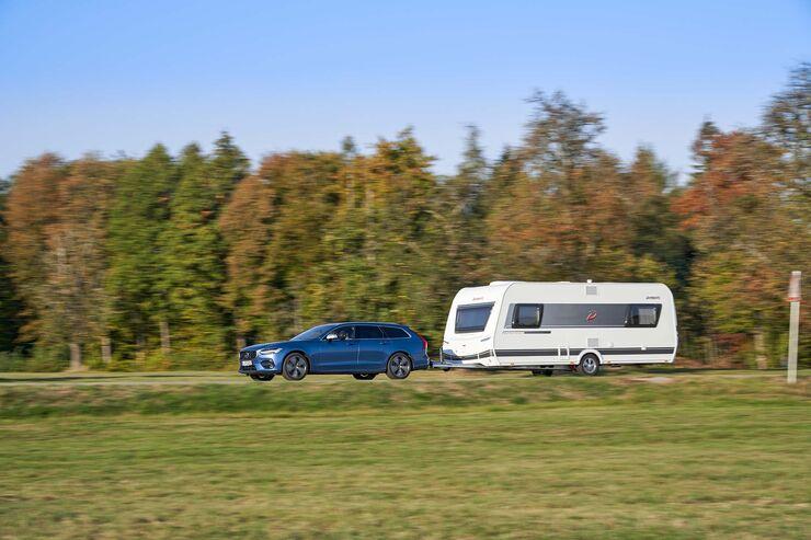 Zugwagen-Test Volvo V90 - Titel