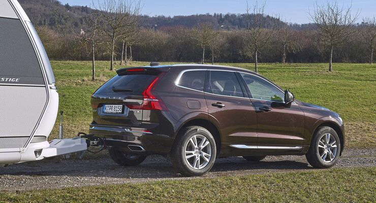 volvo xc60 t6 awd im zugwagentest stark und sparsam. Black Bedroom Furniture Sets. Home Design Ideas