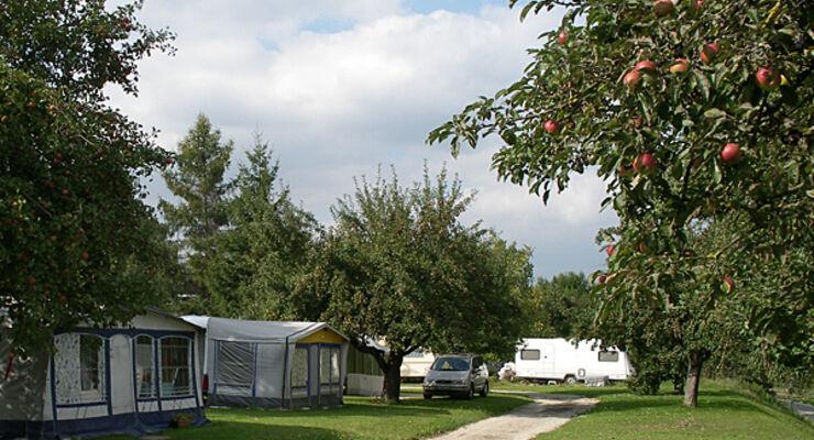 camping wahlwies caravan Herbst Bodensee