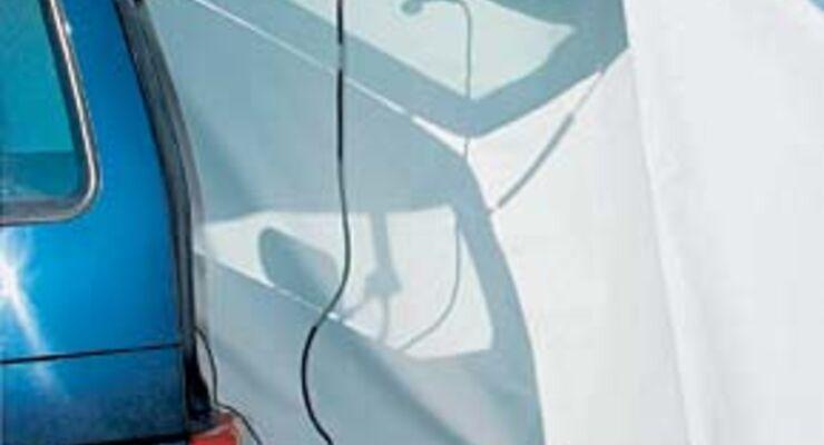 produkttest van shower mobile dusche caravaning. Black Bedroom Furniture Sets. Home Design Ideas