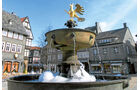 romanischer Marktbrunnen in Goslar